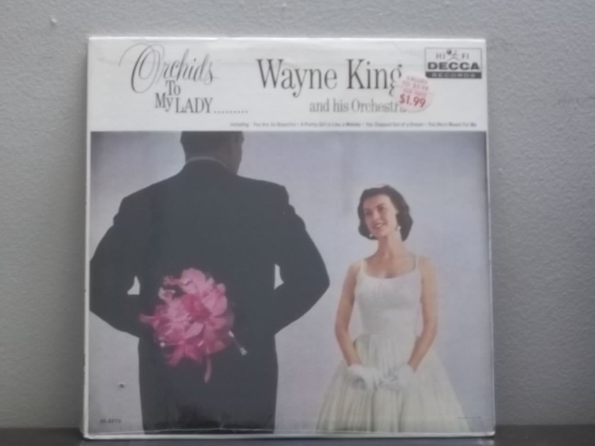 Wayne King Orchids to My Lady - Decca DL 8876 Still Sealed lp