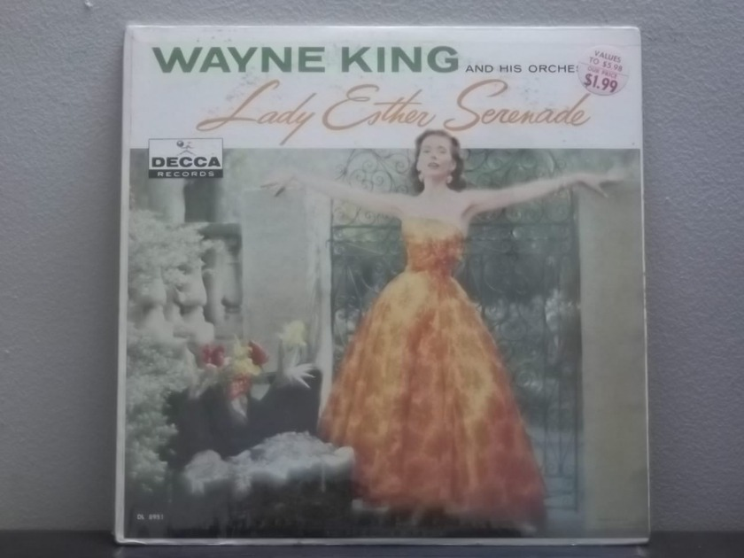 Wayne King Lady Esther Serenade - Decca DL 8951 Still Sealed lp