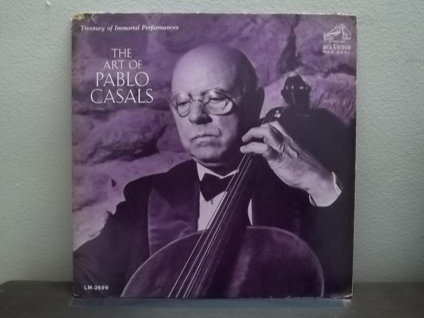 The art of PABLO CASALS - RCA Cello lp