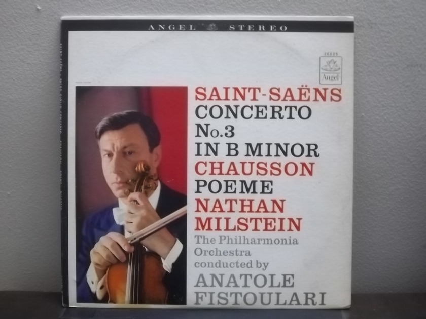 Nathan Milstein Saint-Saens Concerto - Angel