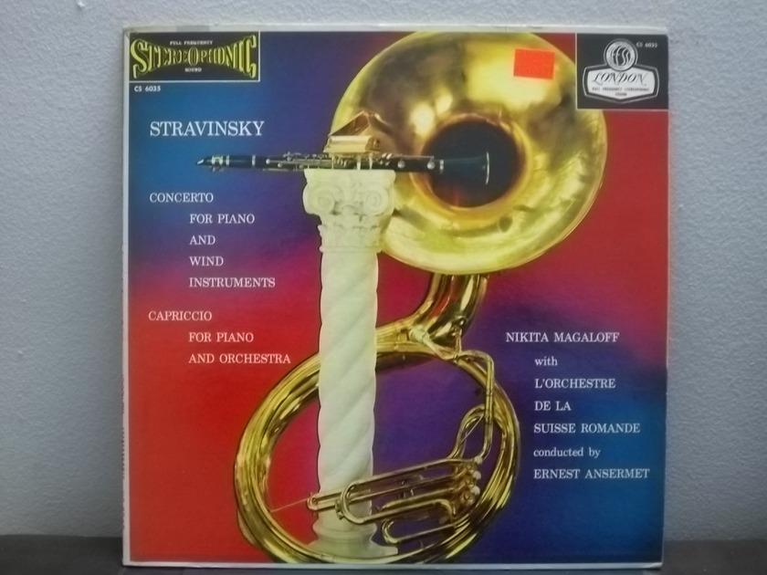 Nikita Magaloff Stravinsky Concerto - London Blue back ffss