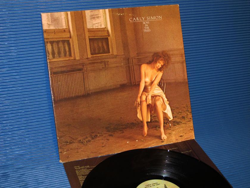 """CARLY SIMON - - """"Boys In The Trees"""" - Elektra 1978"""