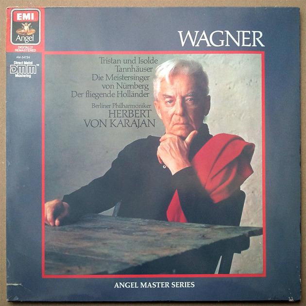 Sealed/EMI/Karajan/Wagner - Overtures / German Pressing