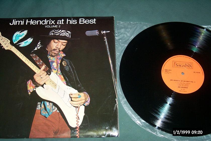 Jimi Hendrix - At His Best Volume 2 LP NM