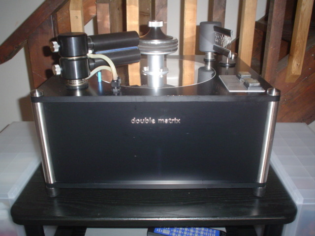 clearaudio Dolble Matrix record cleaning machine