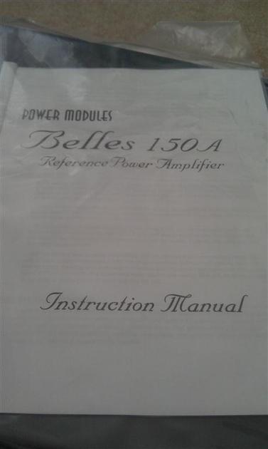 BELLES 150a REF v.2 Power-Amp