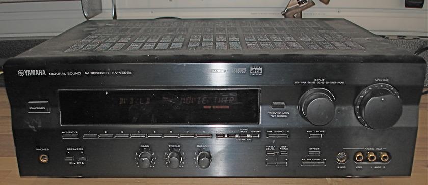 Yamaha RX-V595 Surround Sound DSP Receiver