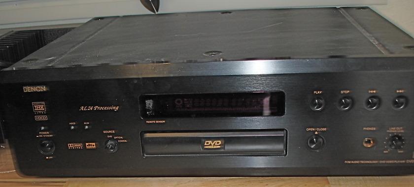 Denon DVD 5000 Video Player AL 24 Processor