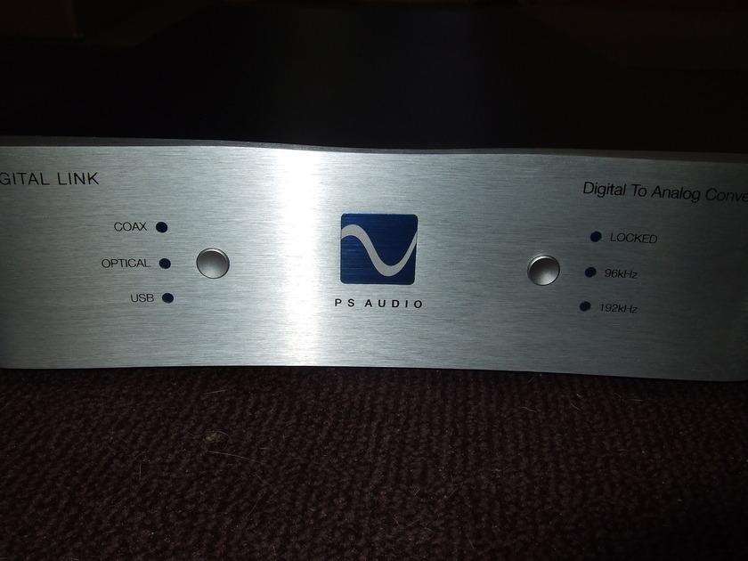 PS Audio Digital Link III Media DAC Under Warranty Just Broken in