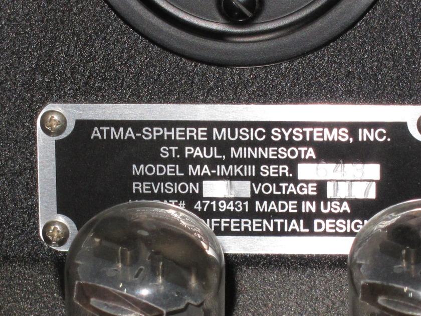 Atma-Sphere MA-1 MK 3.1
