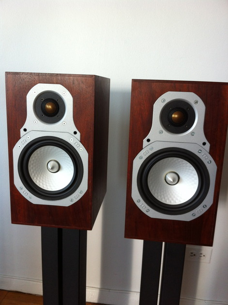 Monitor Audio  GR10 Speakers, Subwoofer, and B&W stands. MINT