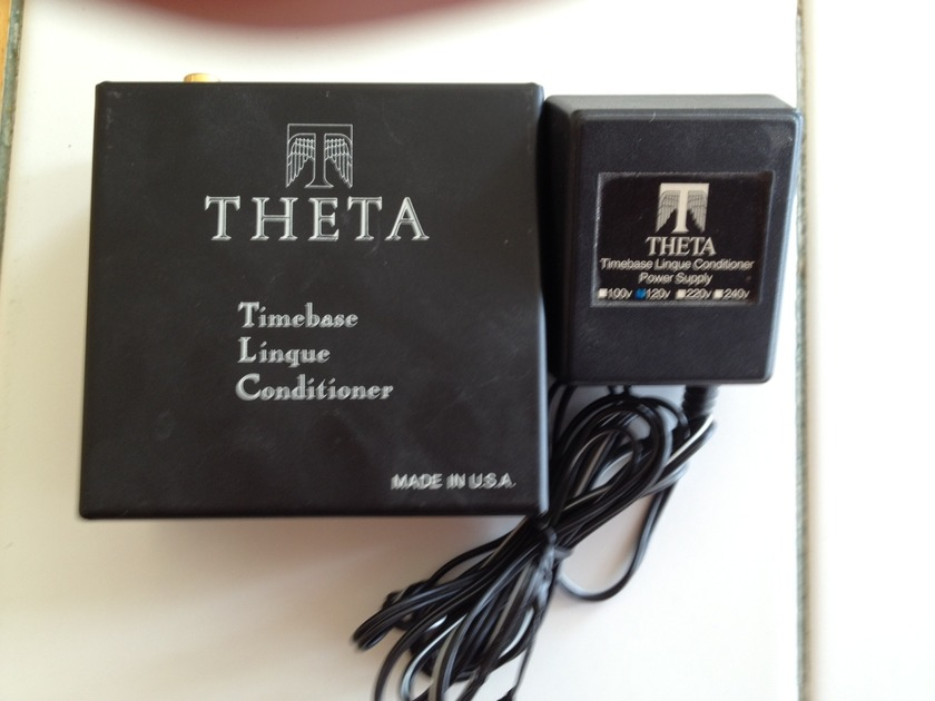 Theta Digital Timebase Linque Conditioner Cleans any digital signal