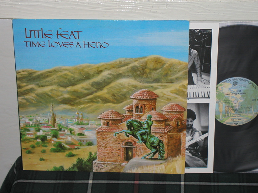 Little Feat  -  Time Loves A Hero GERMAN Import LP.