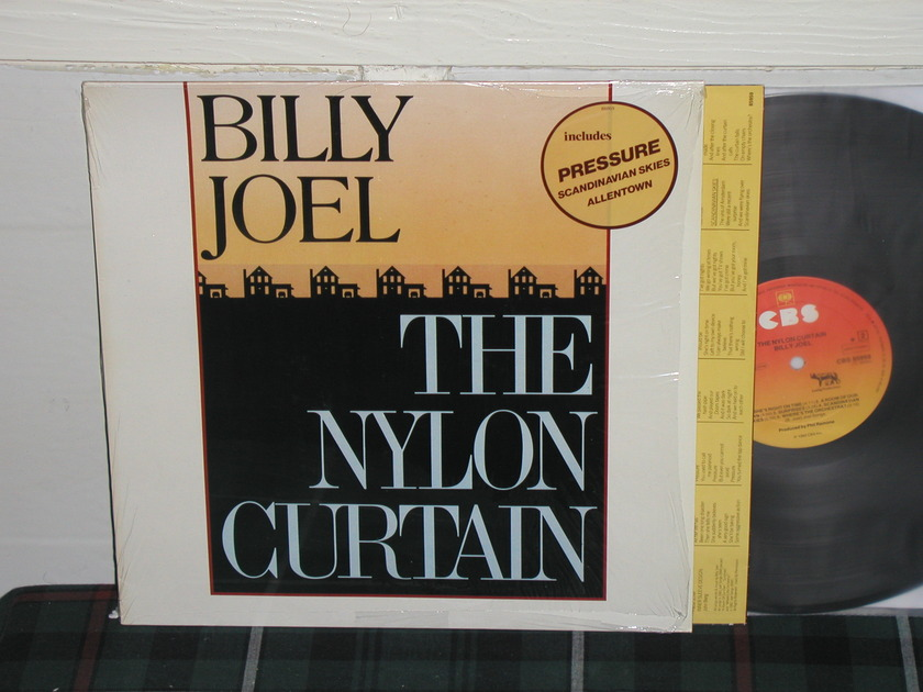 Billy Joel  -  The Nylon Curtain Import   LP Holland press w/sticker