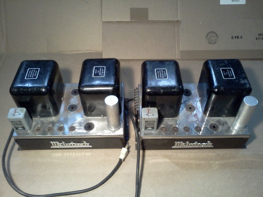 Pair of McIntosh MC30 Tube Amps  consecutive numbers
