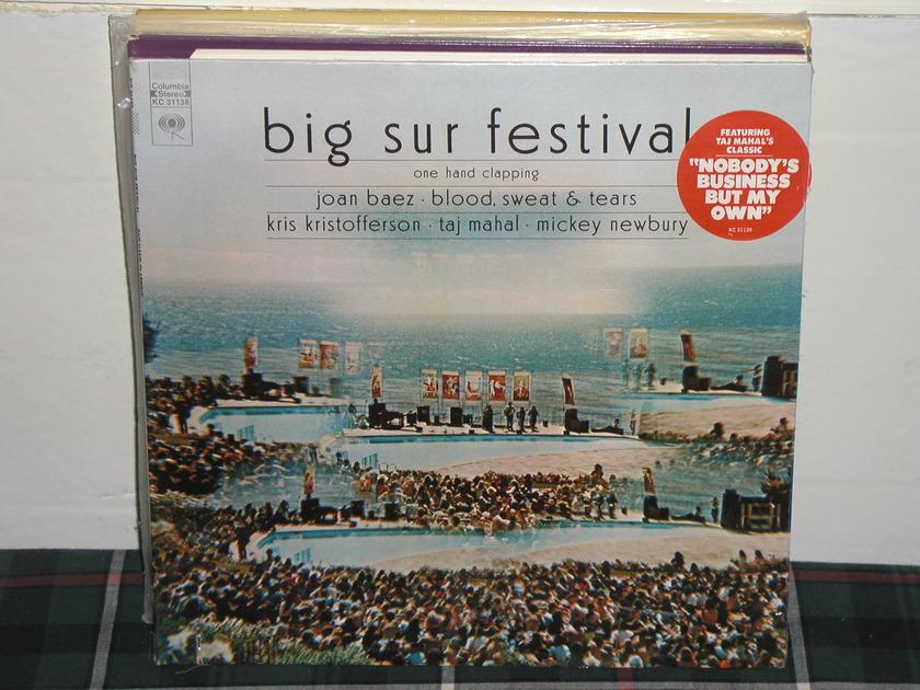Taj Mahal+more  - Big Sur Festival LP Columbia KC31138.SEALED