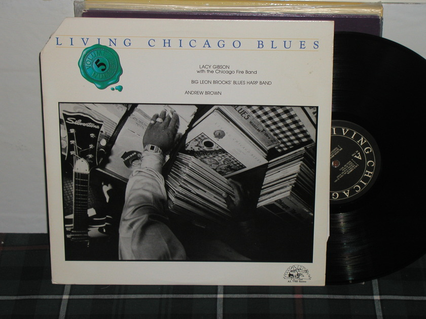 Lacy Gibson+more. - Living Chicago Blues Vol 5 Alligator AL 7705
