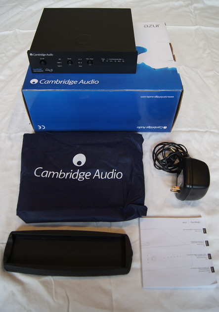 Cambridge Audio DacMagic digital to analog converter