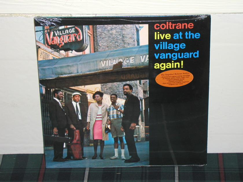 John Coltrane  - Live At Village Vanguard Again  SEALED Impulse IMP-213