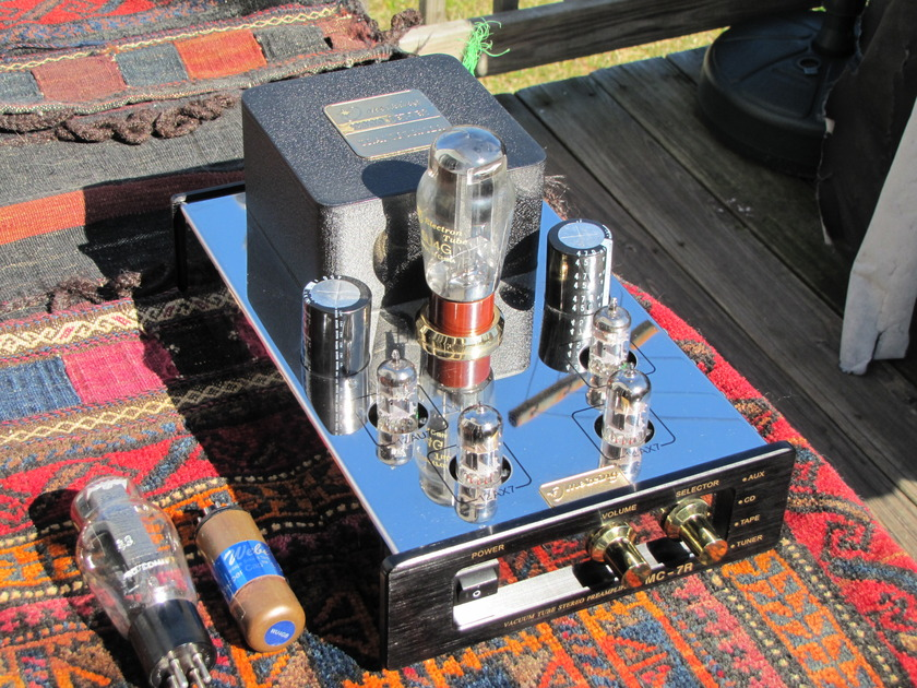Mingda MC-7 modded by Response Audio - tube linestage