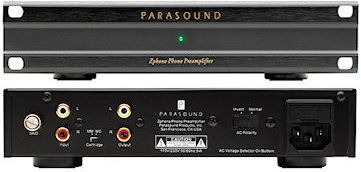 Parasound  Zphono MC/MM phono stage perfect entry level phono stage