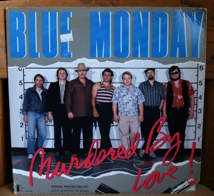 Blue Monday - - Murdered by Love - Kent  KLP 9001