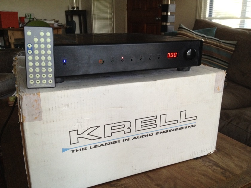 Krell KAV-400xi Black Original Owner, FREE SHIPPING