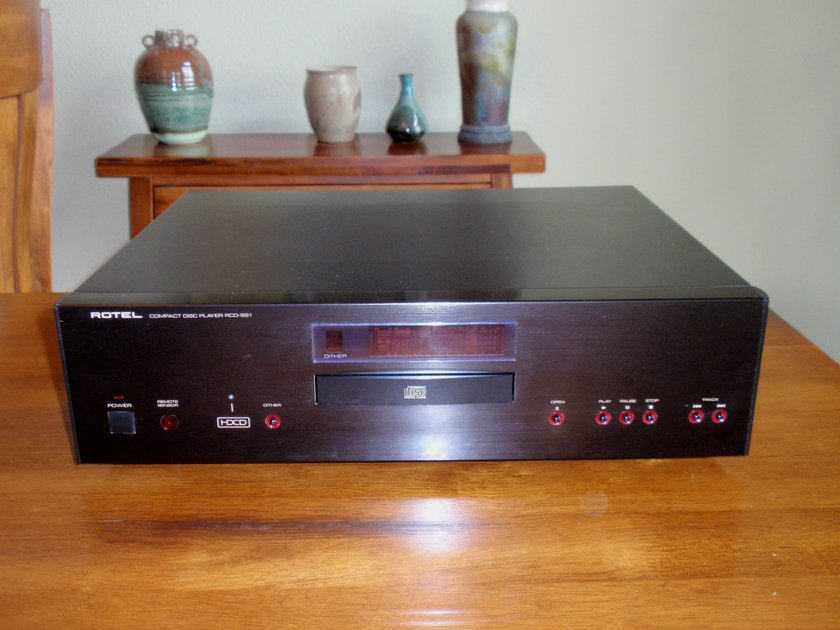 Rotel RCD 991 Cd Player Rotels top of the line