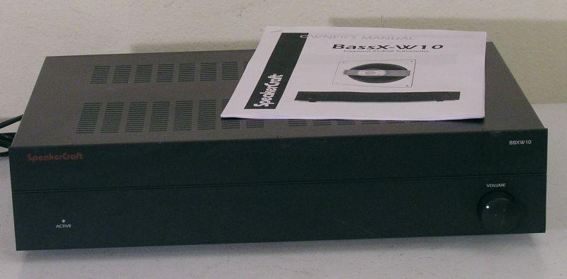 SpeakerCraft BBXW10 Subwoofer Amplifier