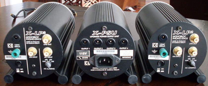 Musical Fidelity X-LP2 monobloc phono preamp RARE