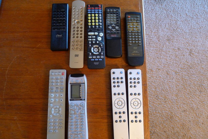 remote controls various all tested