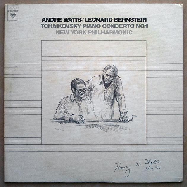 Columbia/Watts/Bernstein/Tchaikovsky - Piano Concerto No.1 / NM
