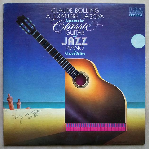 RCA/Bolling/Lagoya/Concerto - for Classic Guitar & Jazz Piano / NM