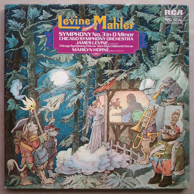 RCA/Levine/Mahler - Symphony No. 3 / 2-LP box set / NM
