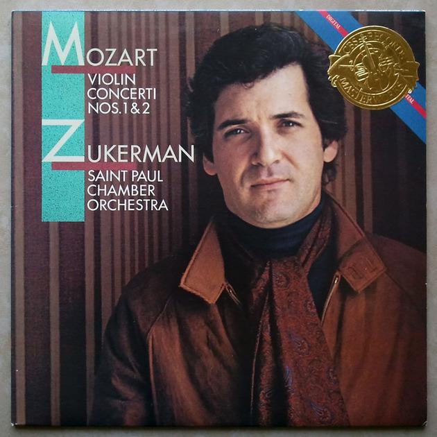 CBS Digital/Zukerman/Mozart - Violin Concertos Nos. 1 & 2 / NM