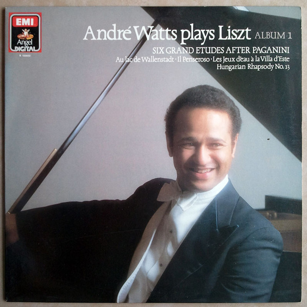 EMI Digital/Andre Watts/Liszt - Six Grand Etudes after Paganini, Hungarian Rhapsody No. 13 ... / NM