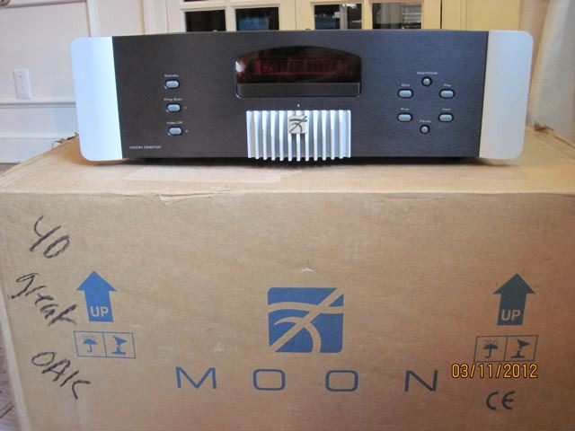 Sim Audio Moon Orbiter universal player STEREOPHILE RECOMMENDED, Mint Condition by Private Seller