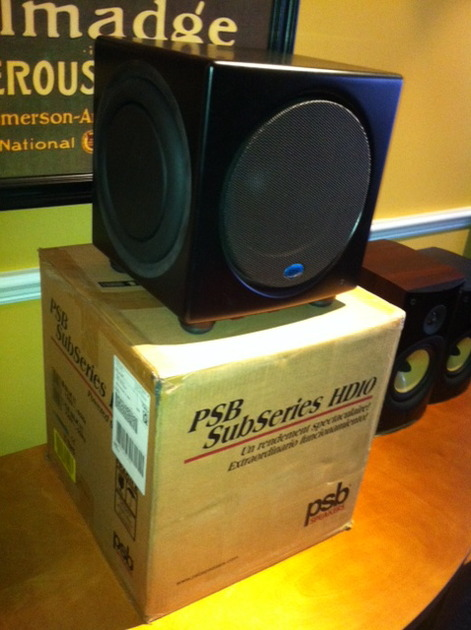 PSB Subwoofer HD10 - Great condition! Awesome sub!