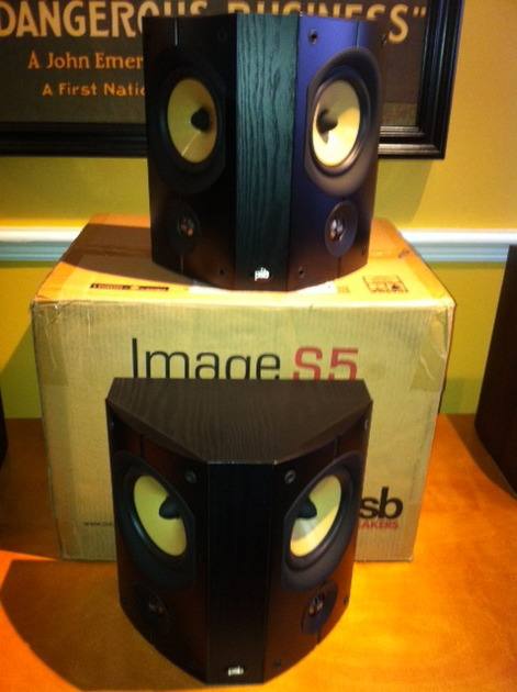PSB Image S5 S5 Surround Speakers Like New