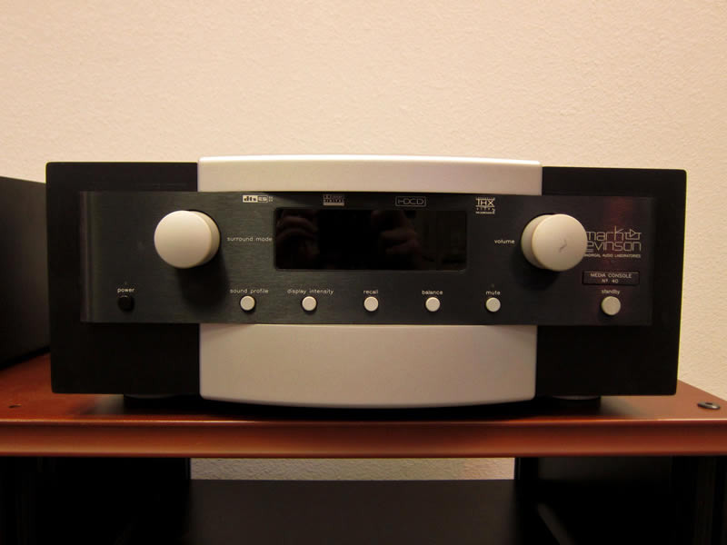 Mark-Levinson No. #40 Media Processor Video And Audio Processors
