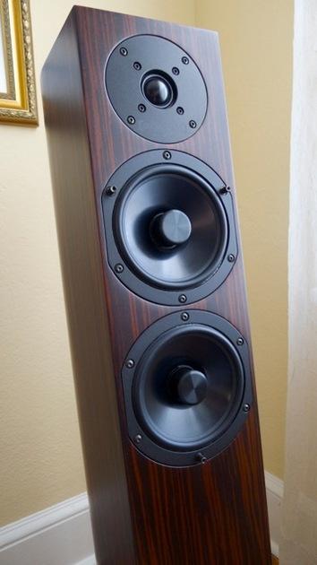 Audio Physic Sitara Upgraded Ebony Floor-standing loudspeakers