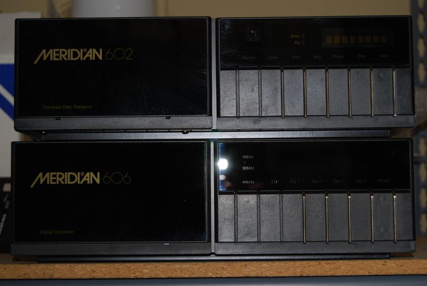 Meridian 602 & 606 CD Transport