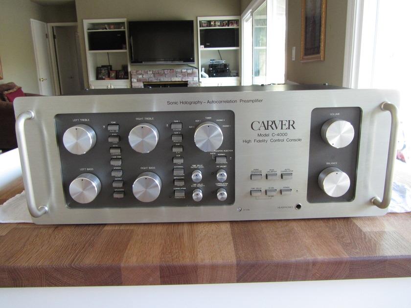 Carver C-4000 Excellent Condition