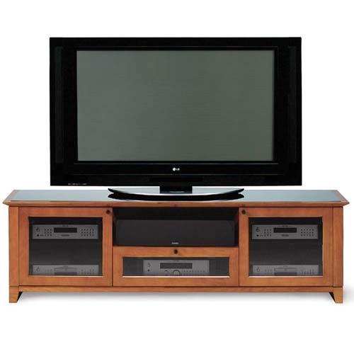 BDI 8429-2 Audio Video Stand Natural Cherry Finish Perfect Condition