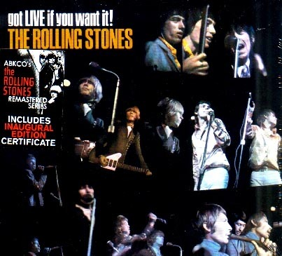 The Rolling Stones - Got Live If You Want It With Inaugural Certificate SACD Super Audio CD NEW
