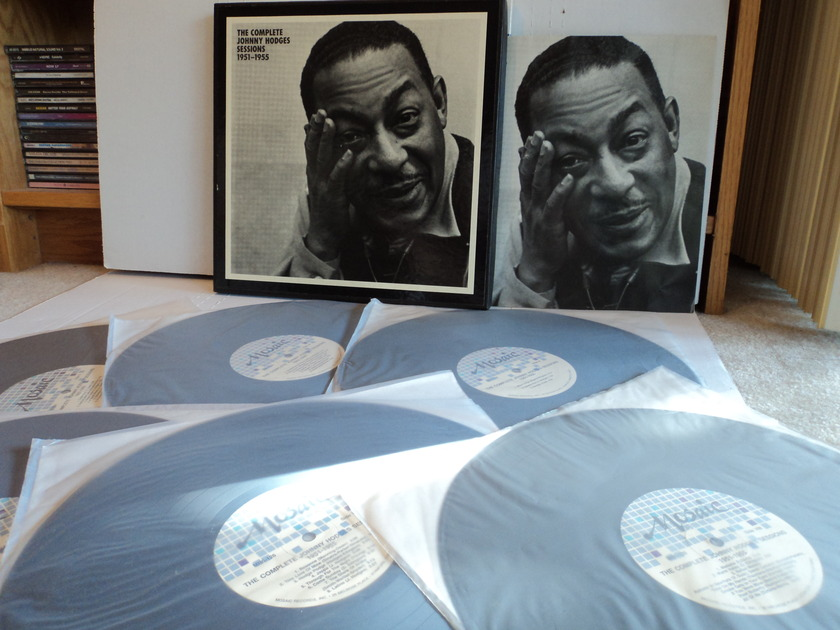 Johnny Hodges  - The Complete Johnny Hodges Sessions 1951-1955 6 LPs Rare Mosaic MG6 126 (NM)