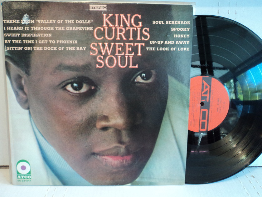 King Curtis - Sweet Soul Atco SD 33-247 Barbados Import Super Rare Deep Groove