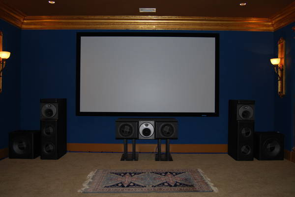 B&W Flagship Speakers ct8lr, ct8cc, ct8sw no compromise home theater