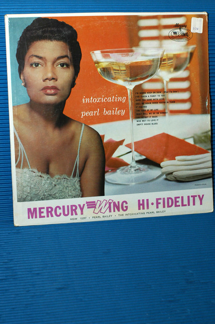 "PEARL BAILEY -  - ""Intoxicating"" -  Mercury Wing  Mono sealed"