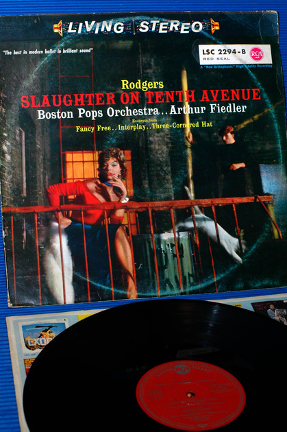 """RODGERS -  - """"Slaughter On 10th Ave."""" -  RCA 1959 German  Pressing rare!"""